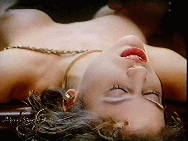 Alyssa Milano desnuda coño
