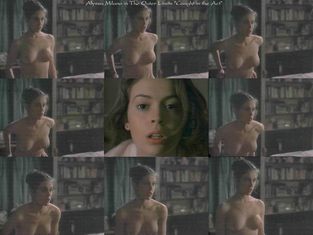 Alyssa Milano desnuda porno