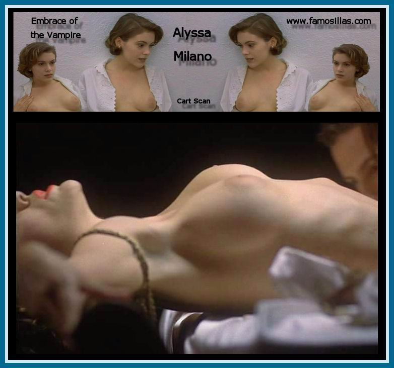 Alyssa Milano sin censuras