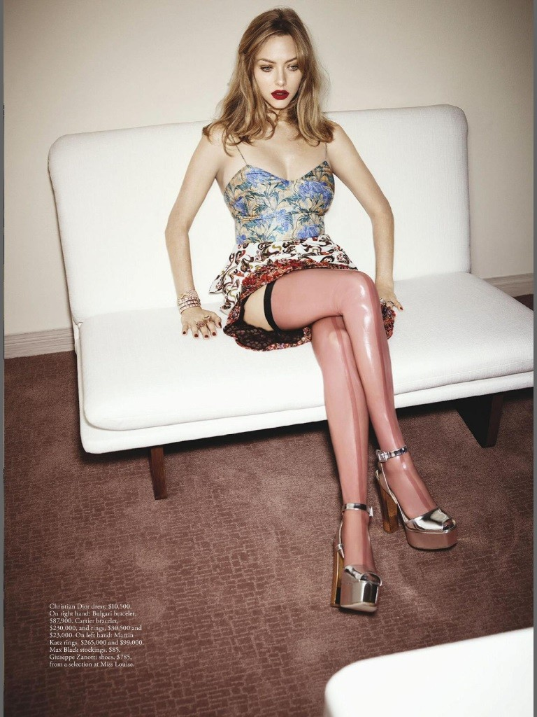 Amanda Seyfried sin ropa interior 5