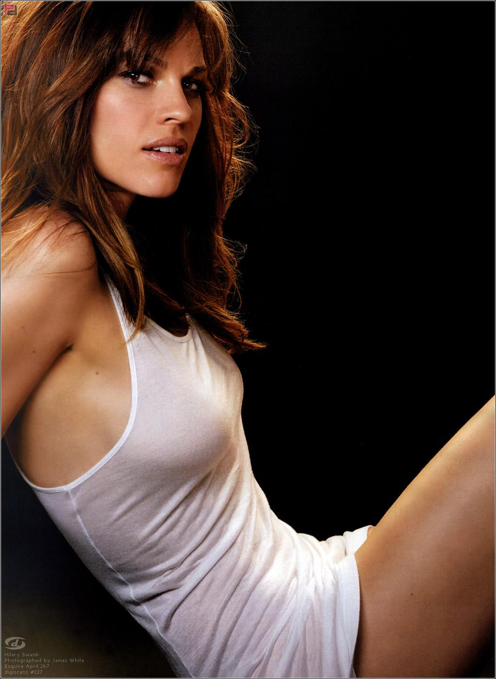 Hilary Swank desnuda video