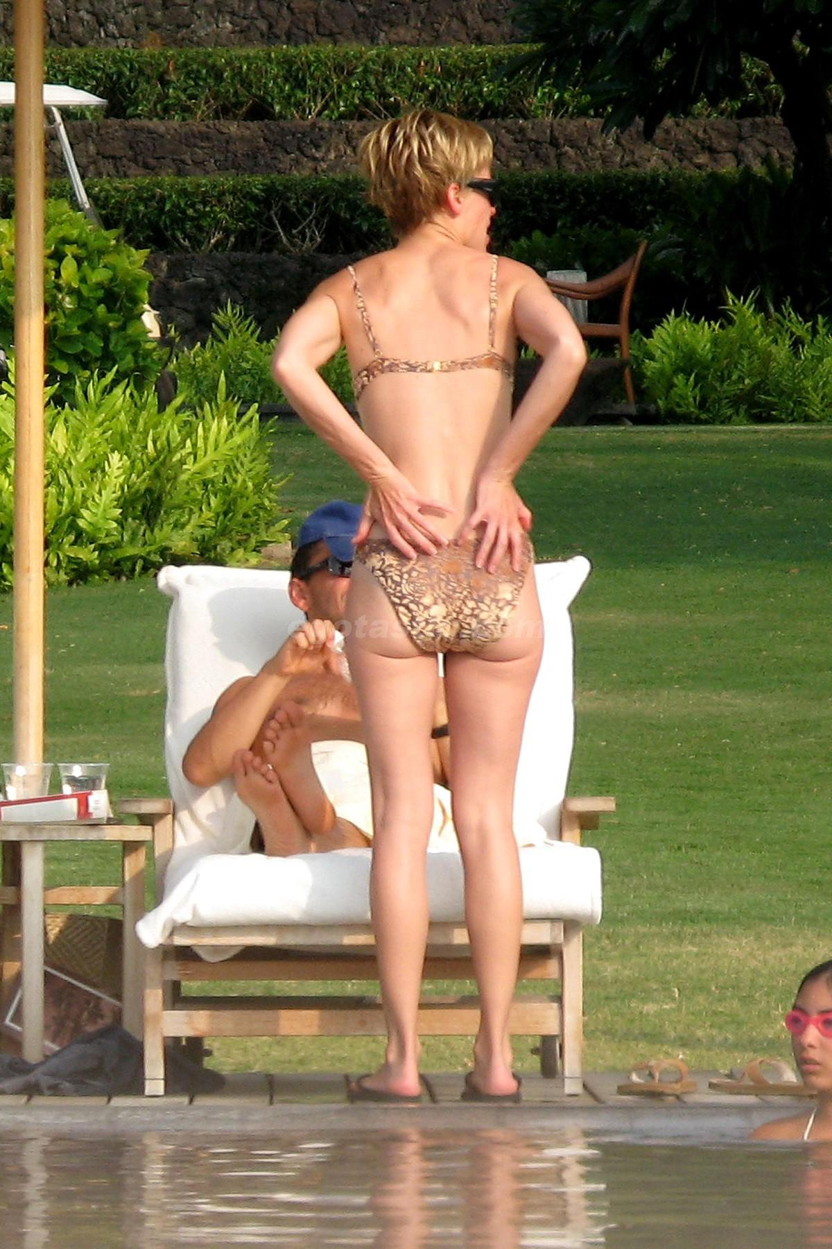 Hilary Swank pillada desnuda 1