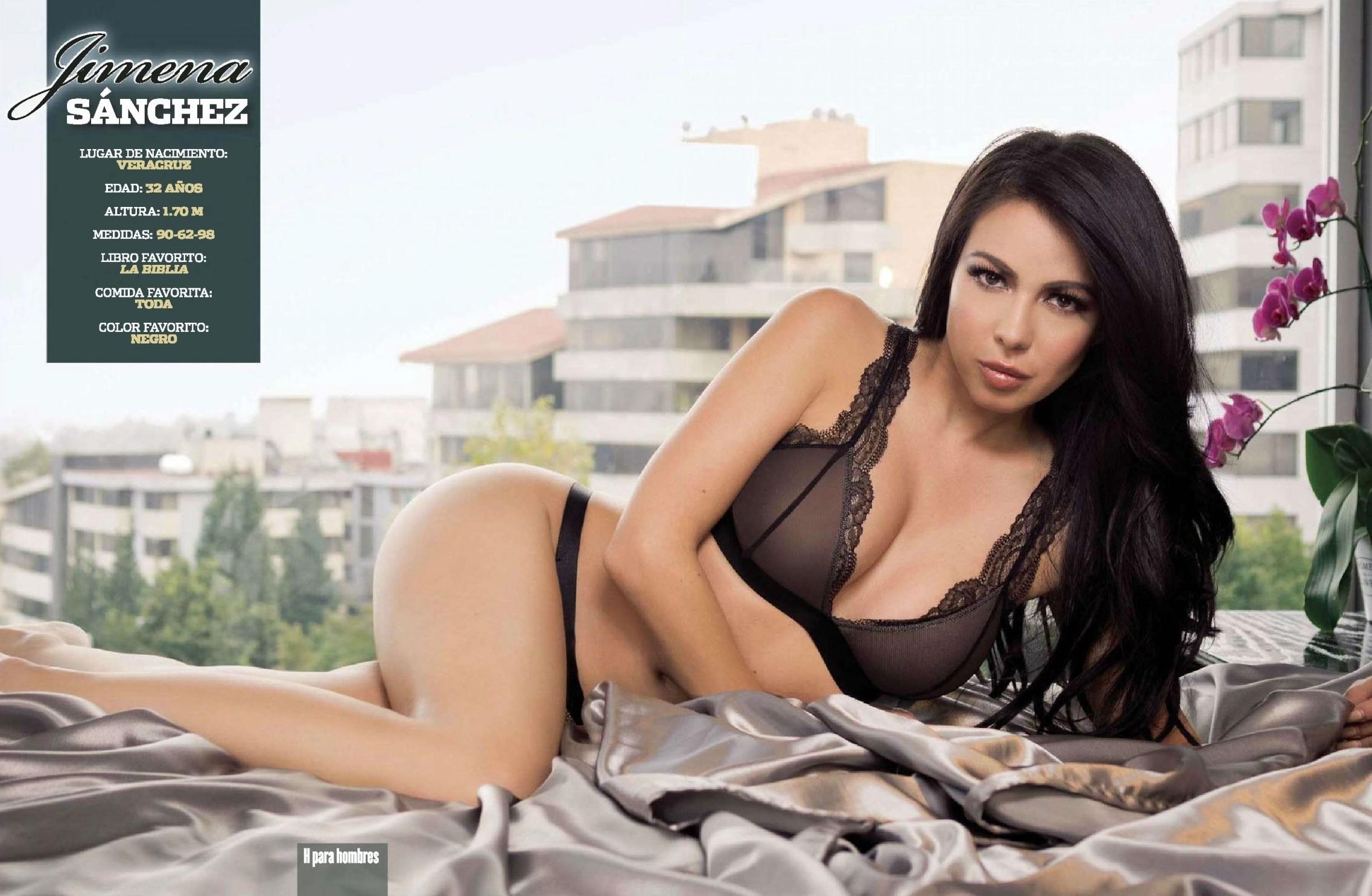 Jimena Sanchez tetas 1