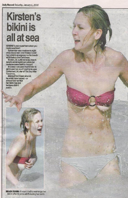 Kirsten Dunst desnuda tetas