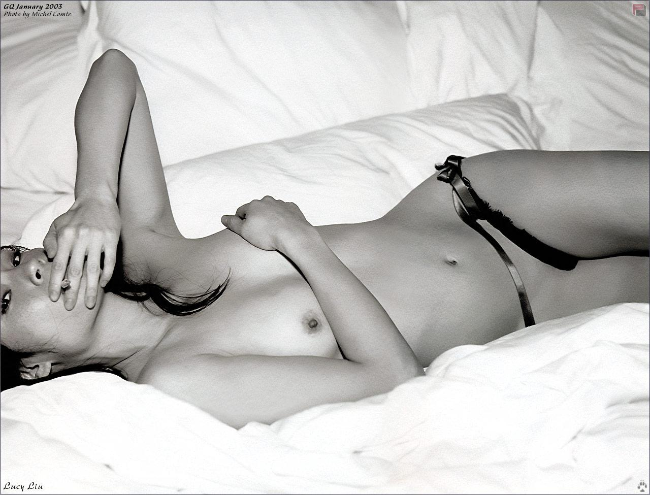 Lucy Liu desnuda porno