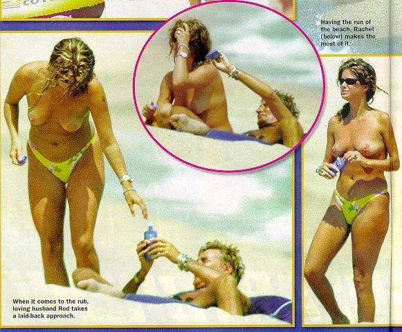 Rachel Hunter videos desnuda
