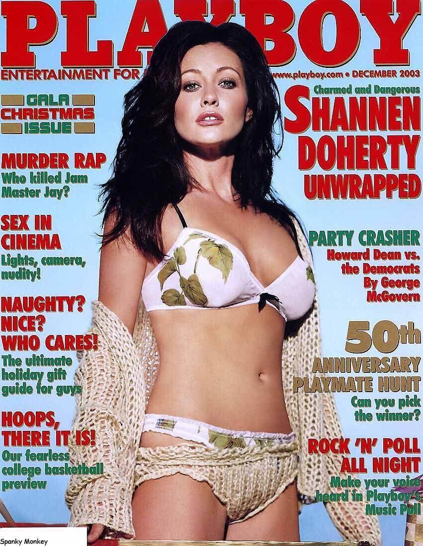 Shannen Doherty desnuda tetas 1