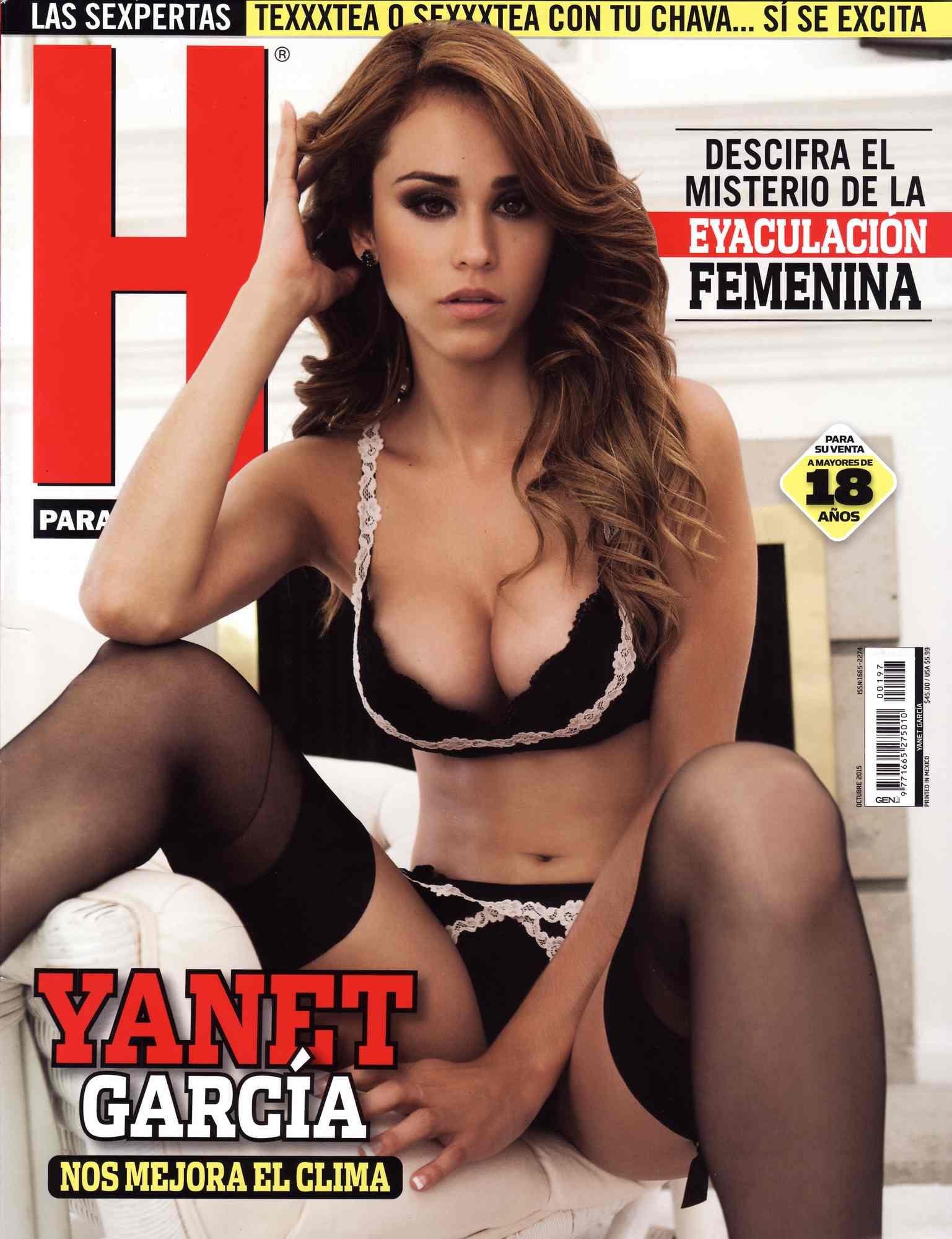 Yanet Garcia desnuda tetas