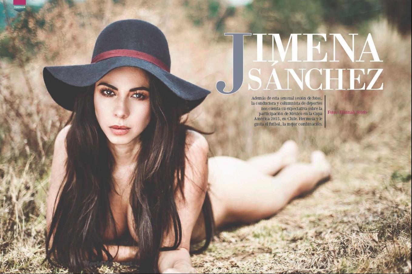 desnuda Jimena Sanchez