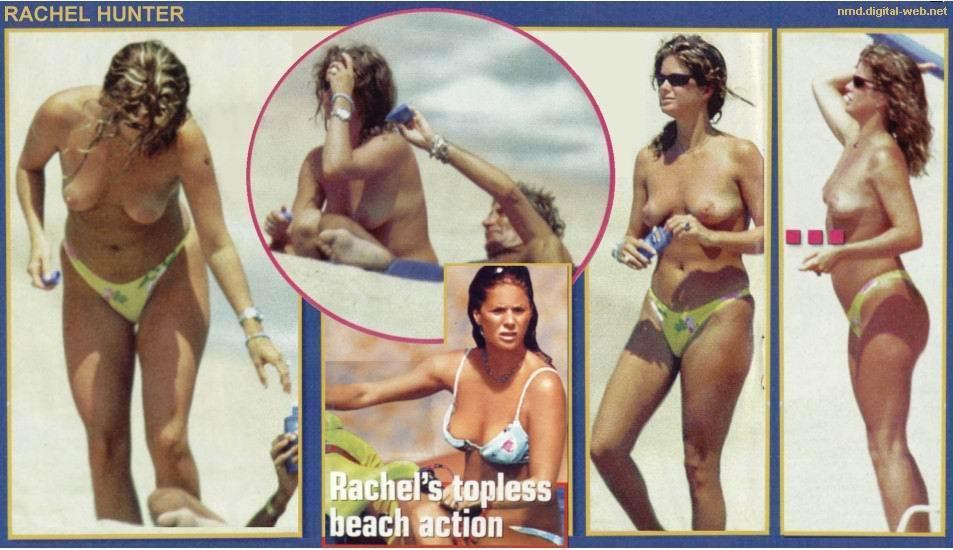 fotos Rachel Hunter desnuda 1