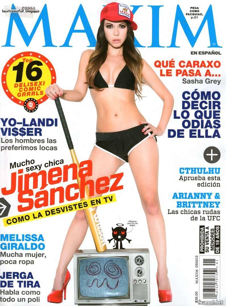 fotos de Jimena Sanchez desnuda