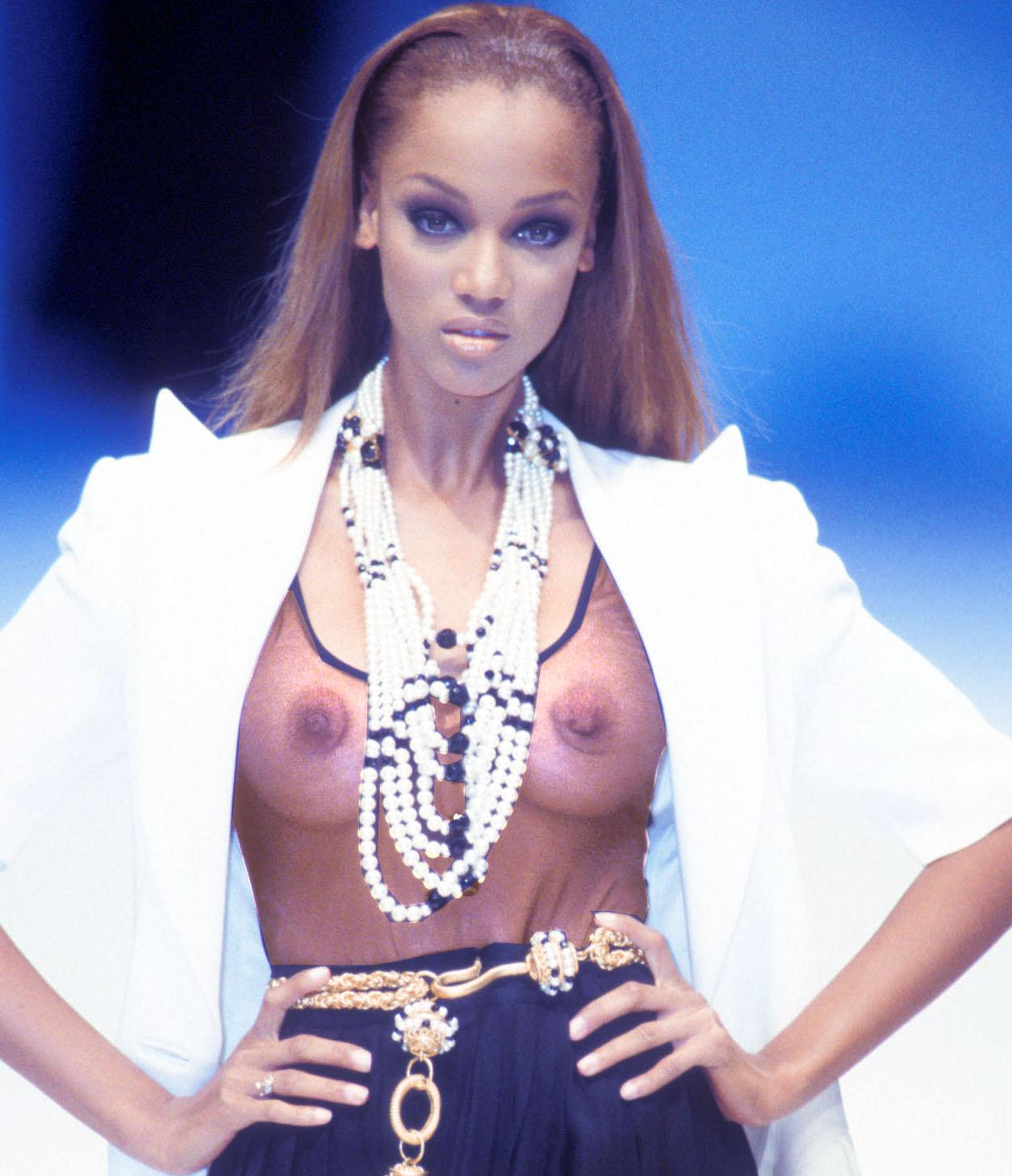 from Hank sexy tyra banks naked