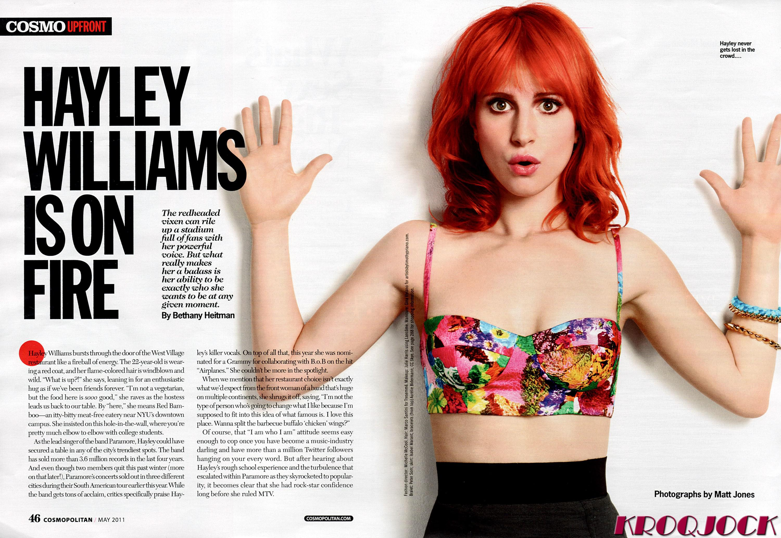 video porno de Hayley Williams