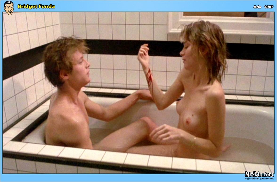 Bridget Fonda desnuda tetas 1