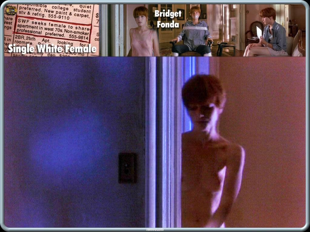 Bridget Fonda pillada desnuda