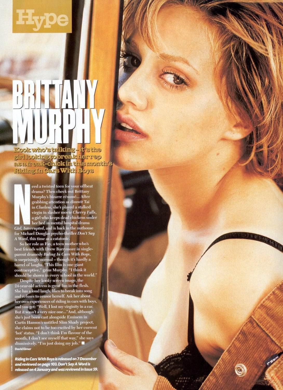 Brittany Murphy sexo
