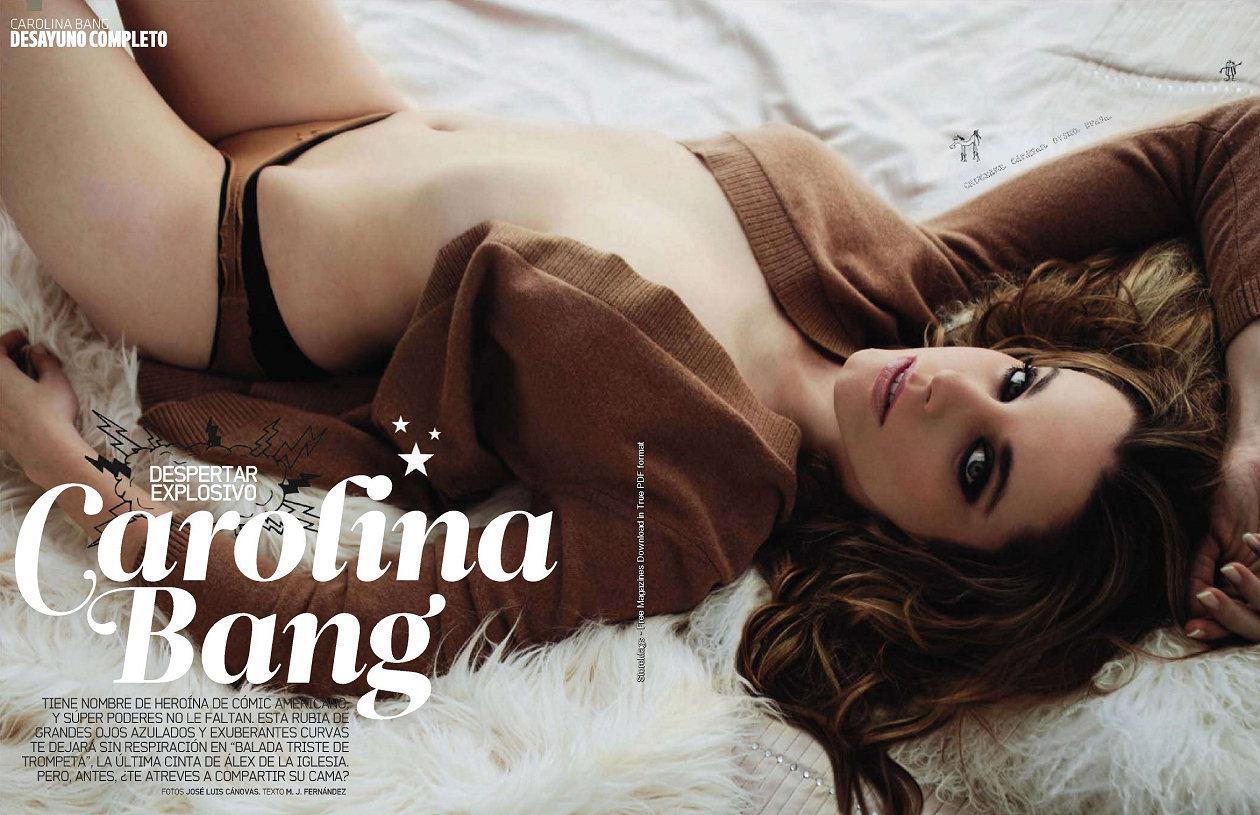 Carolina Bang fotos filtradas desnuda