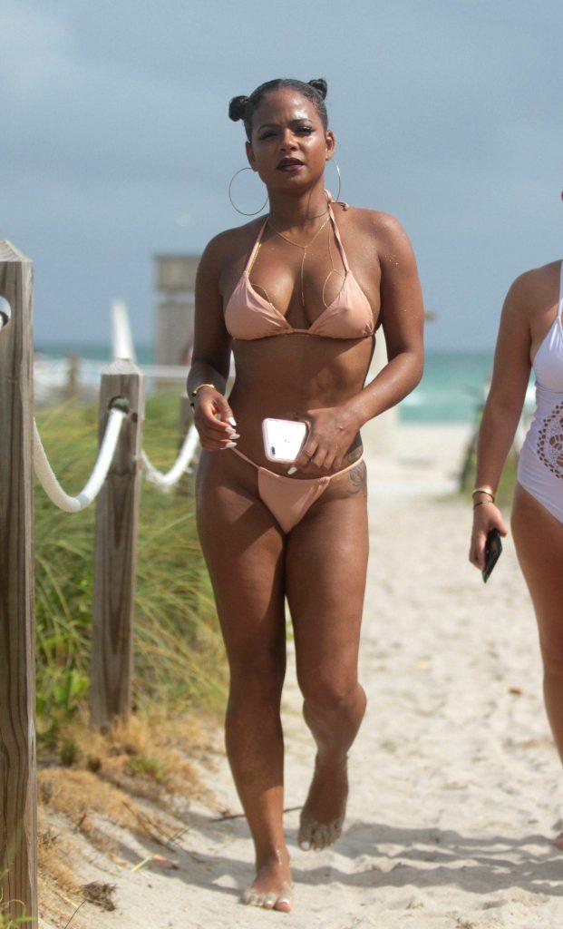 Christina Milian desnuda follando 1