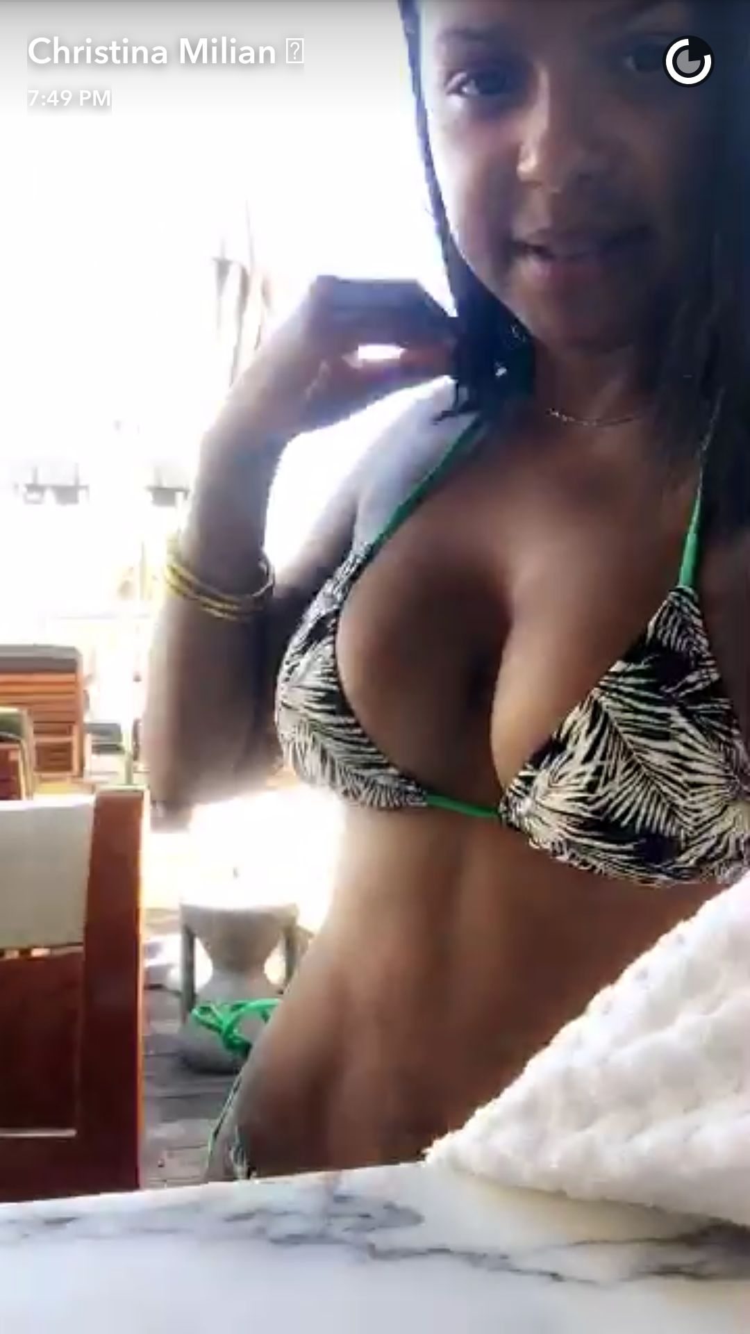 Christina Milian desnuda porno 1