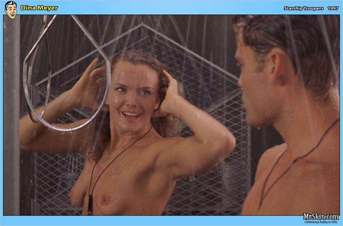 Dina Meyer videos desnuda