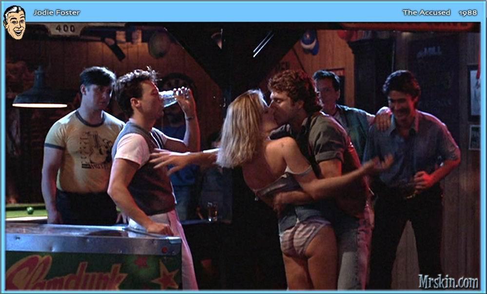 Jodie Foster pillada desnuda