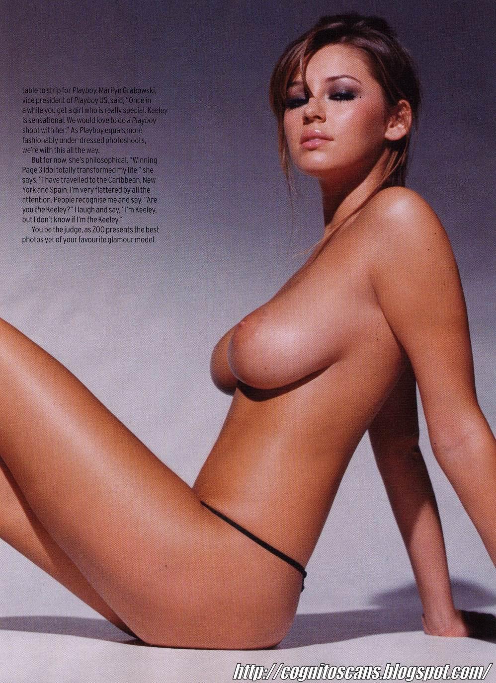 Keeley Hazell desnuda