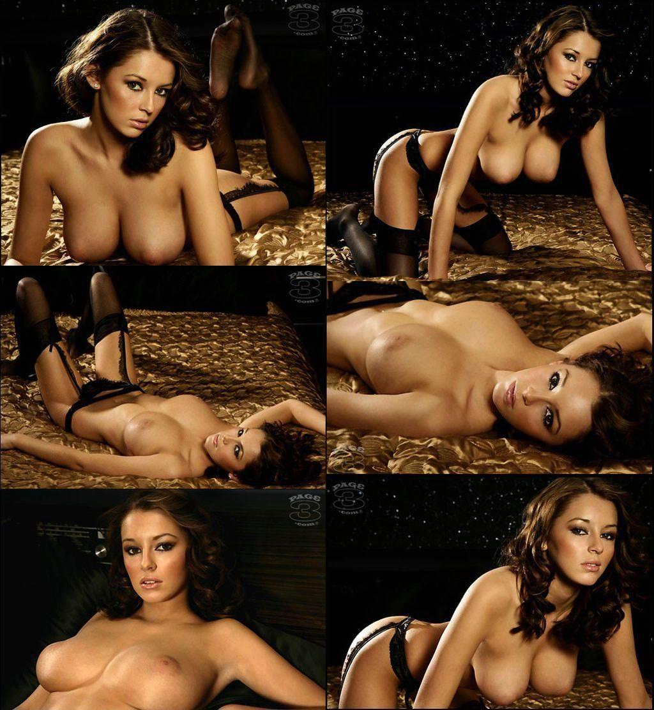 Keeley Hazell pillada desnuda