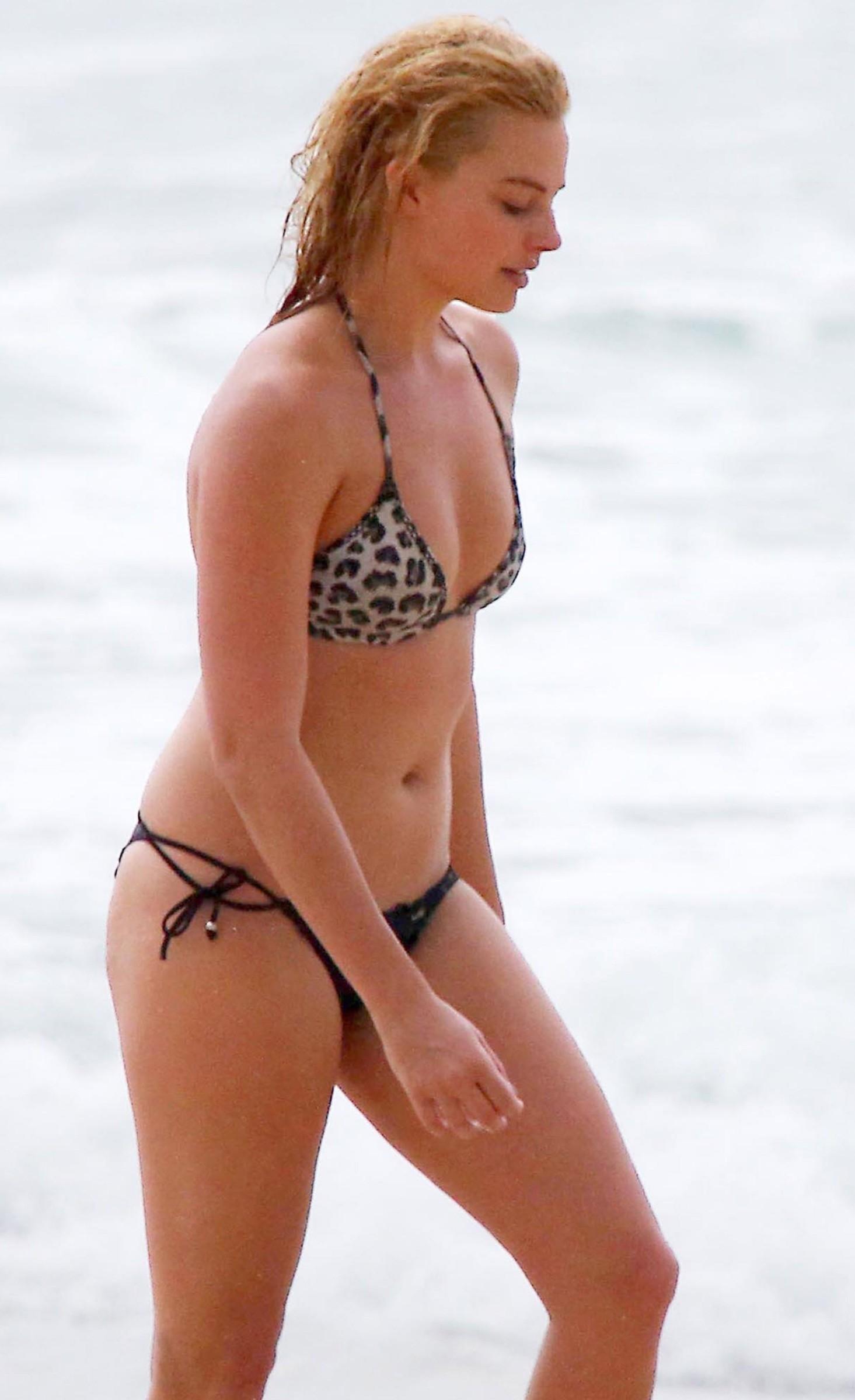 Margot Robbie sin ropa
