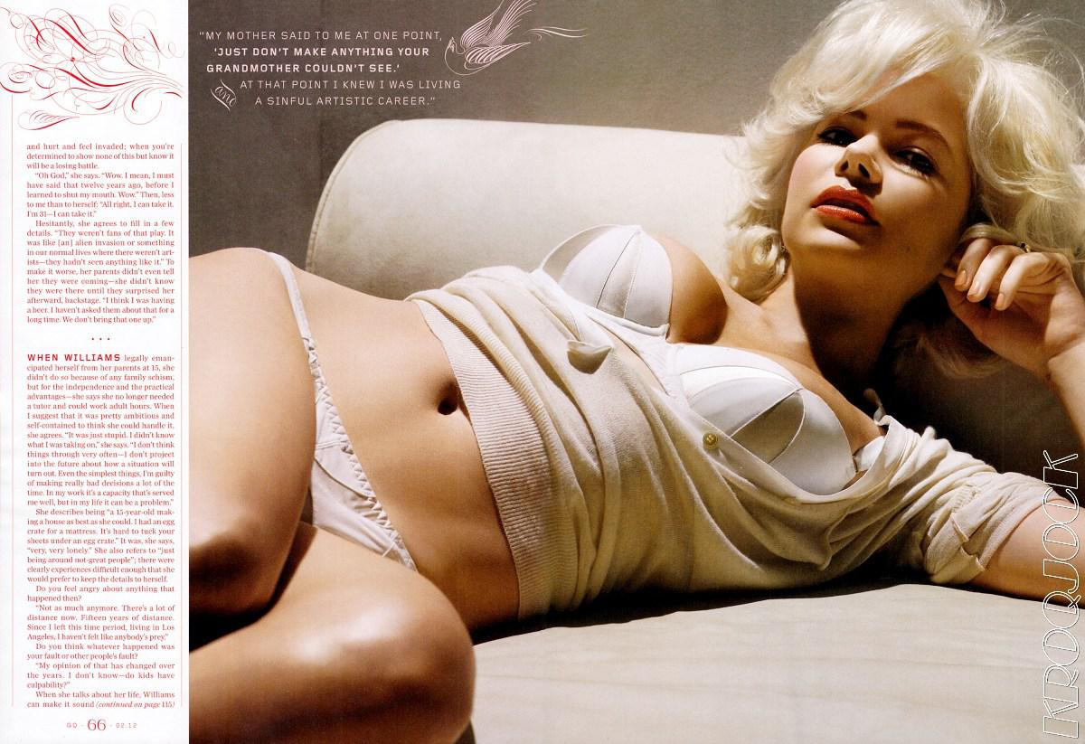 Michelle Williams fotos desnuda hackeadas