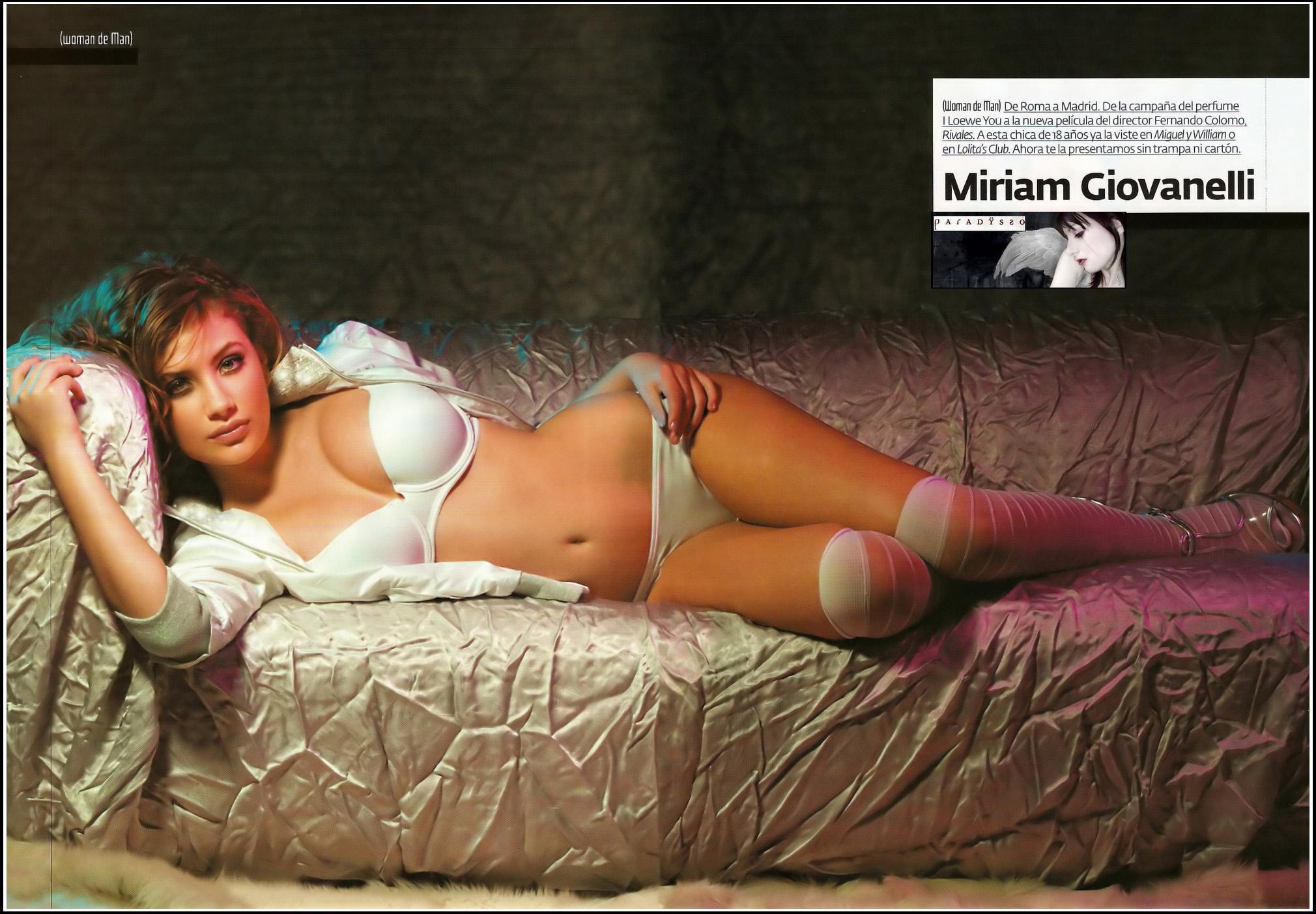Miriam Giovanelli pillada desnuda 1