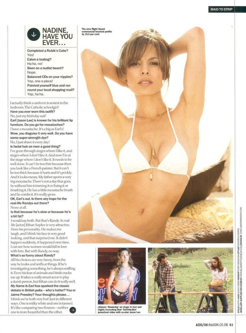 Nadine Velazquez desnuda follando