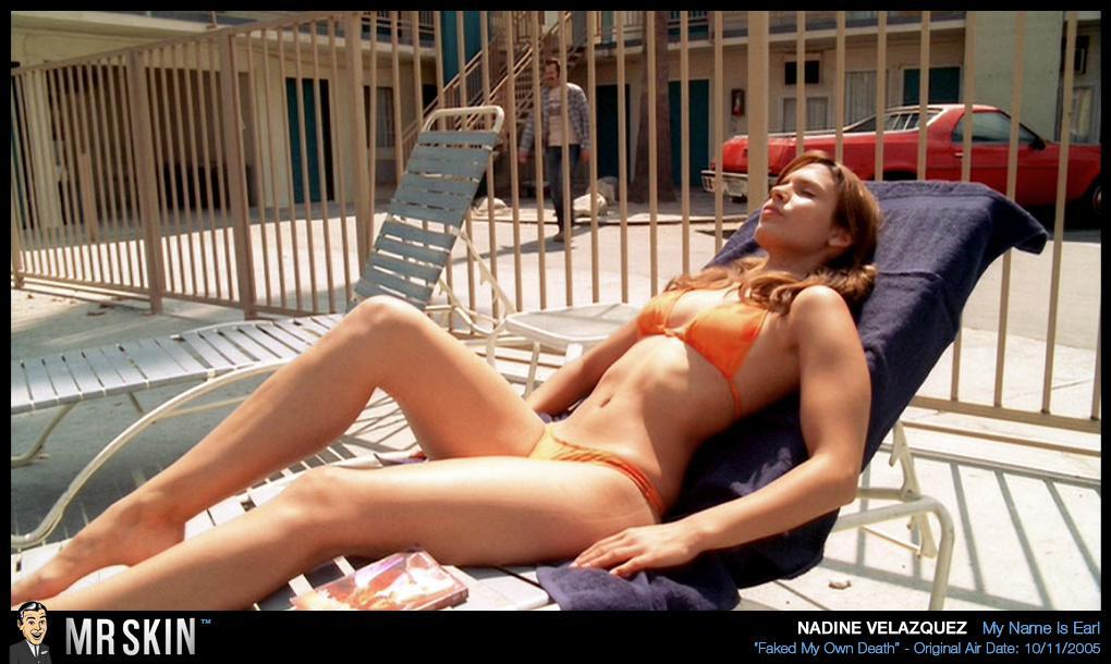 Nadine Velazquez pillada desnuda 1