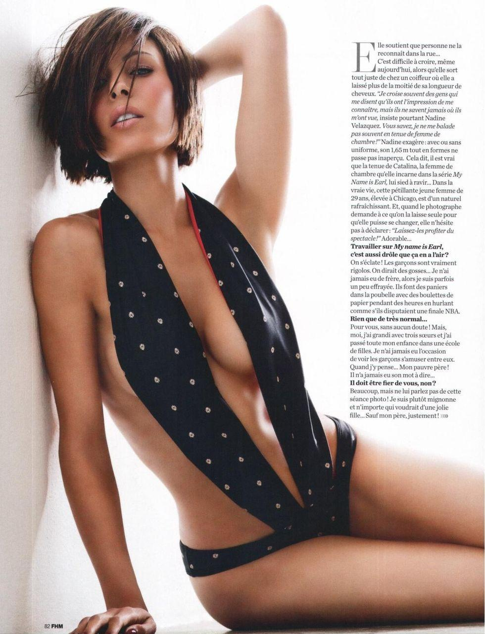 desnuda Nadine Velazquez 1