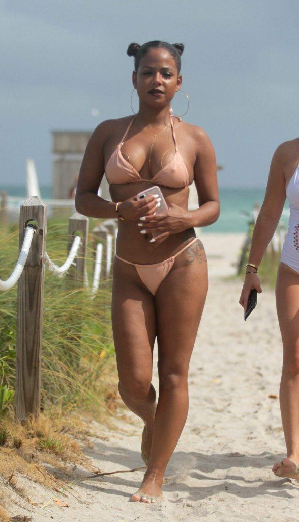 fotos Christina Milian desnuda 1