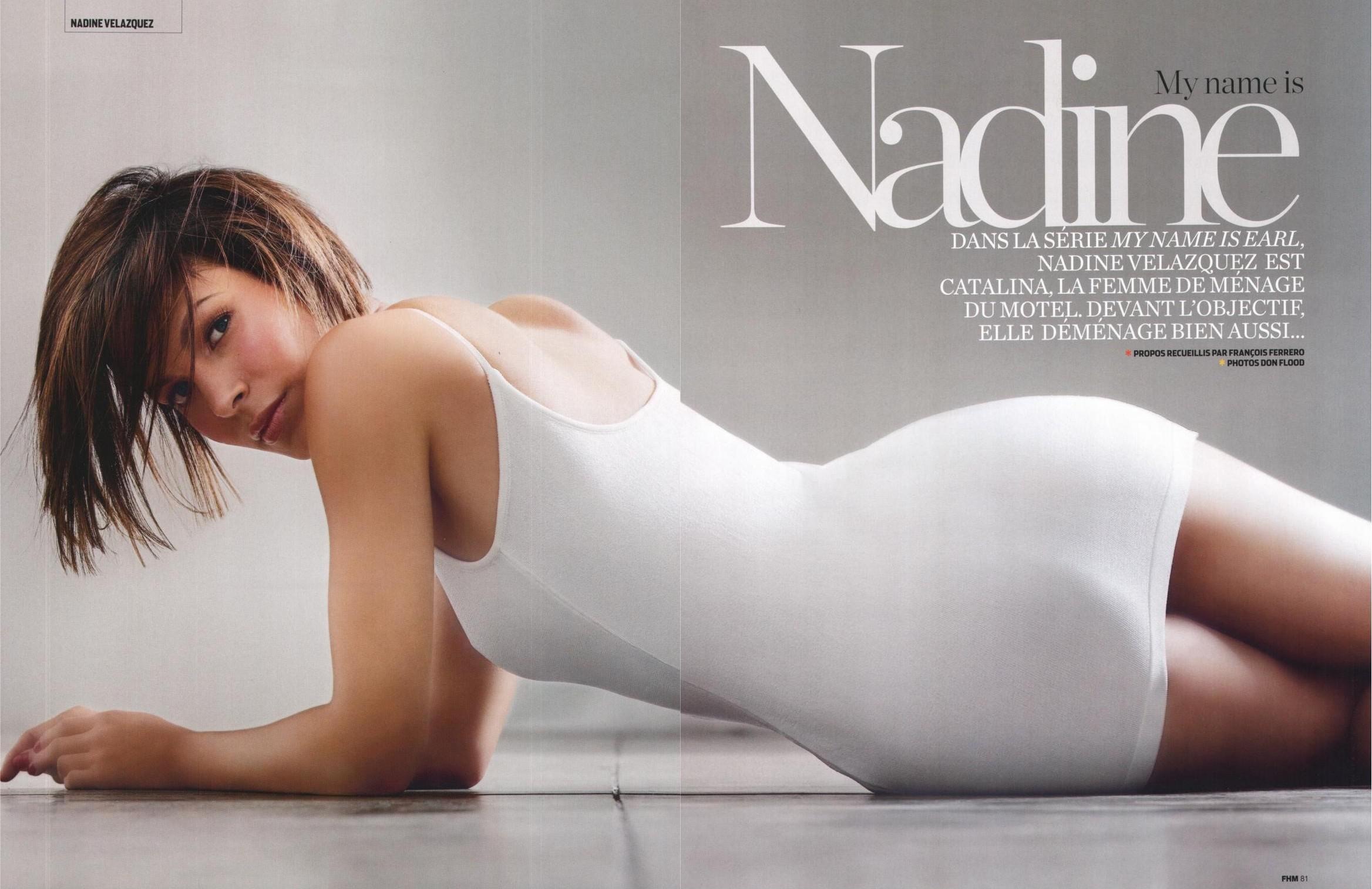 fotos Nadine Velazquez desnuda
