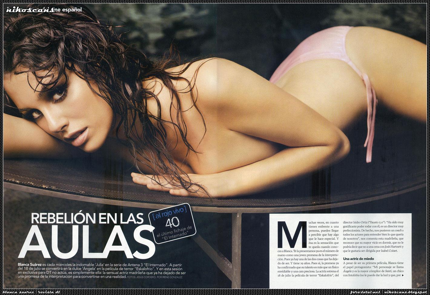 Blanca Suarez desnuda coño 1