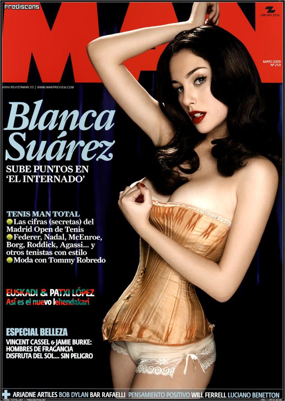 Blanca Suarez desnuda coño Man Magazine