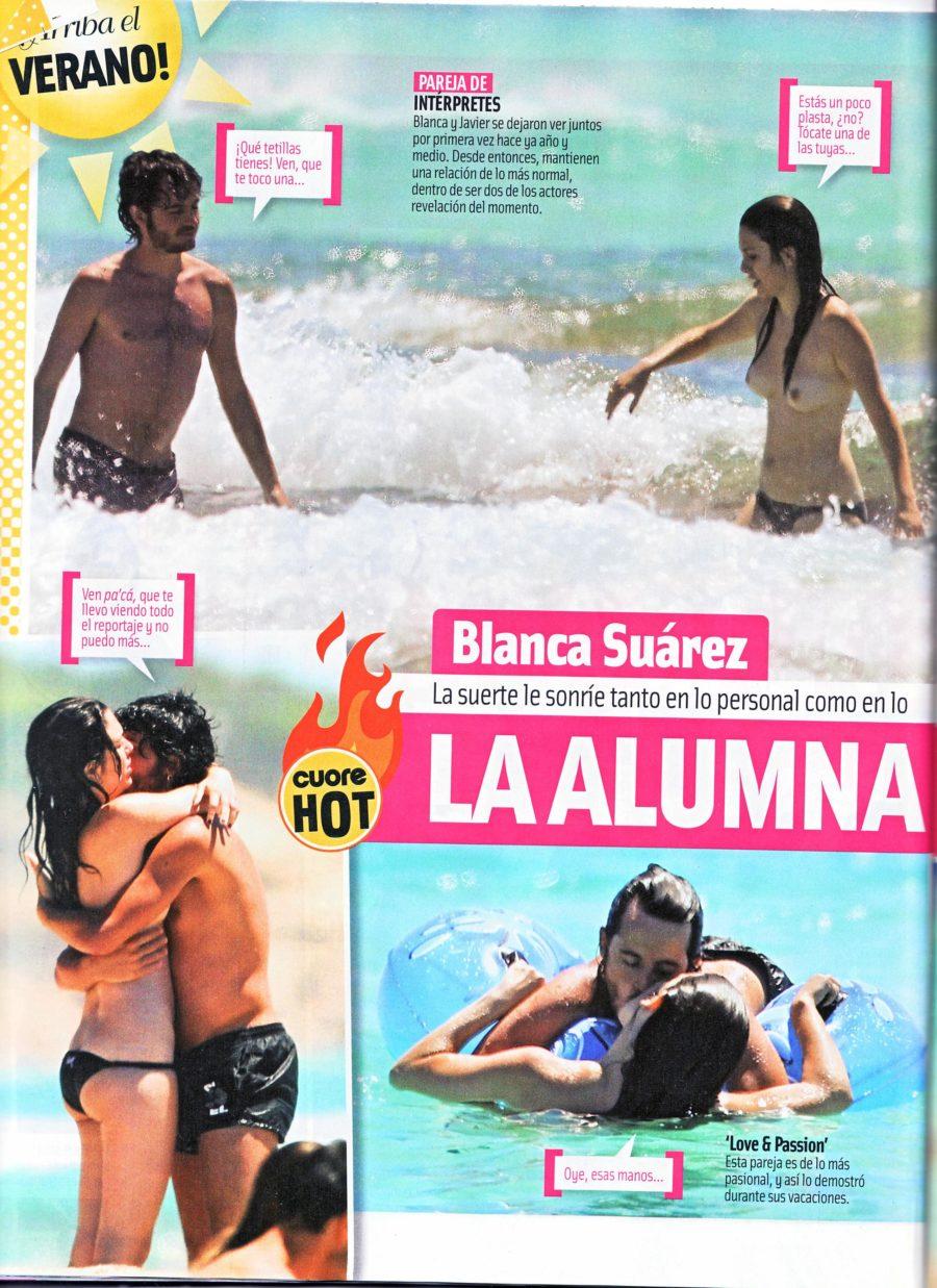 Blanca Suarez desnuda follando