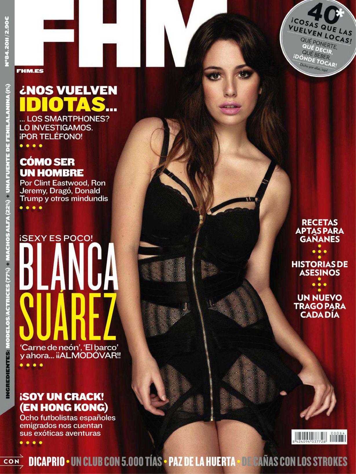 Blanca Suarez desnuda porno FHM