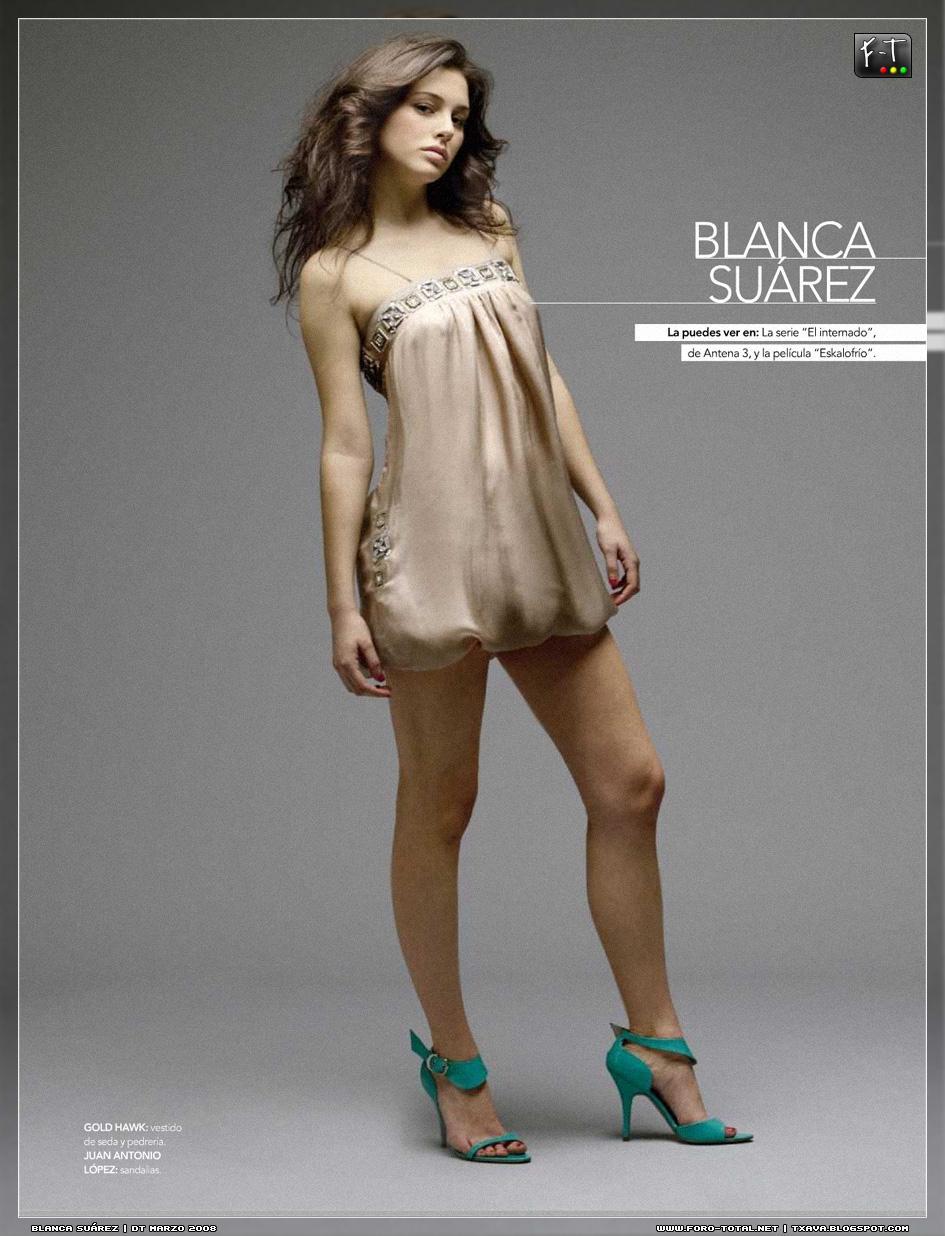 Blanca Suarez desnuda tetas FT