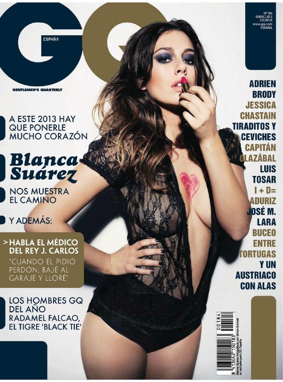 Blanca Suarez fotos desnuda hackeadas GQ