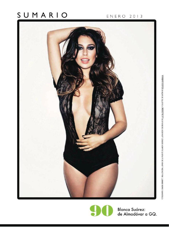 Blanca Suarez sin censura GQ