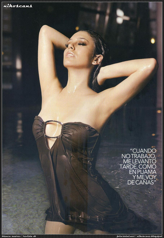 Blanca Suarez sin ropa interior