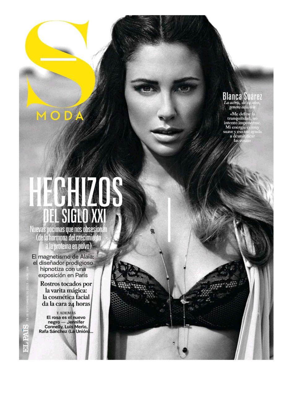 fotos Blanca Suarez desnuda Smoda