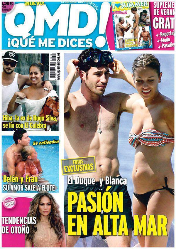 porno de Blanca Suarez topless