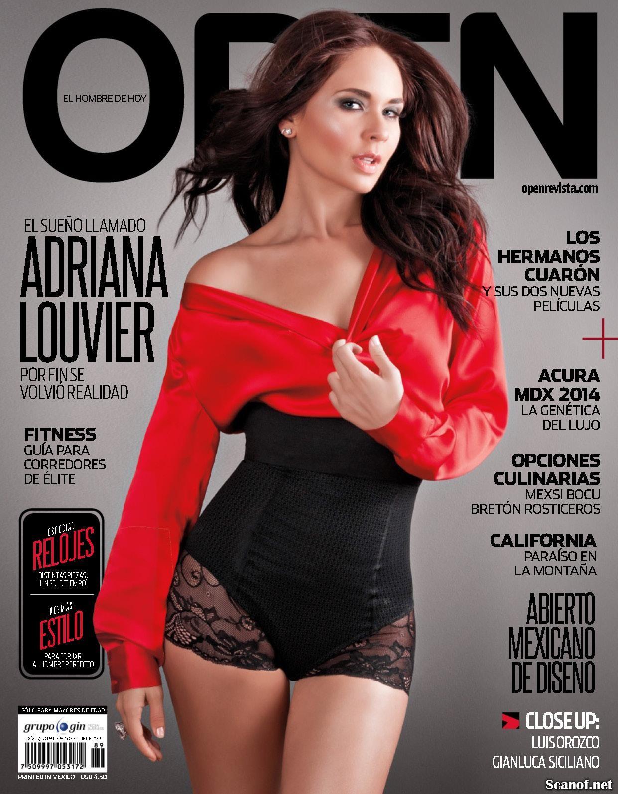 Adriana Louvier famosas follando