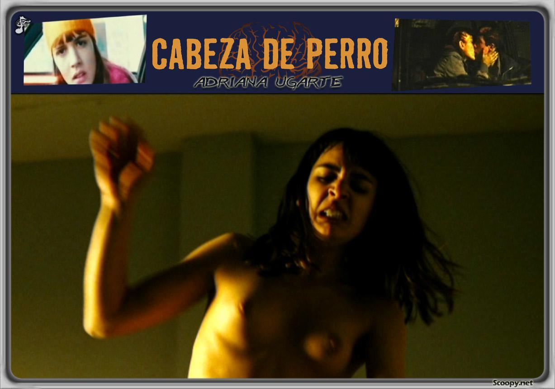 Adriana Ugarte totalmente desnuda
