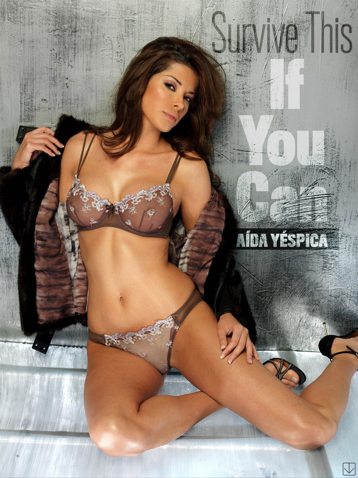 Aida Yespica coño