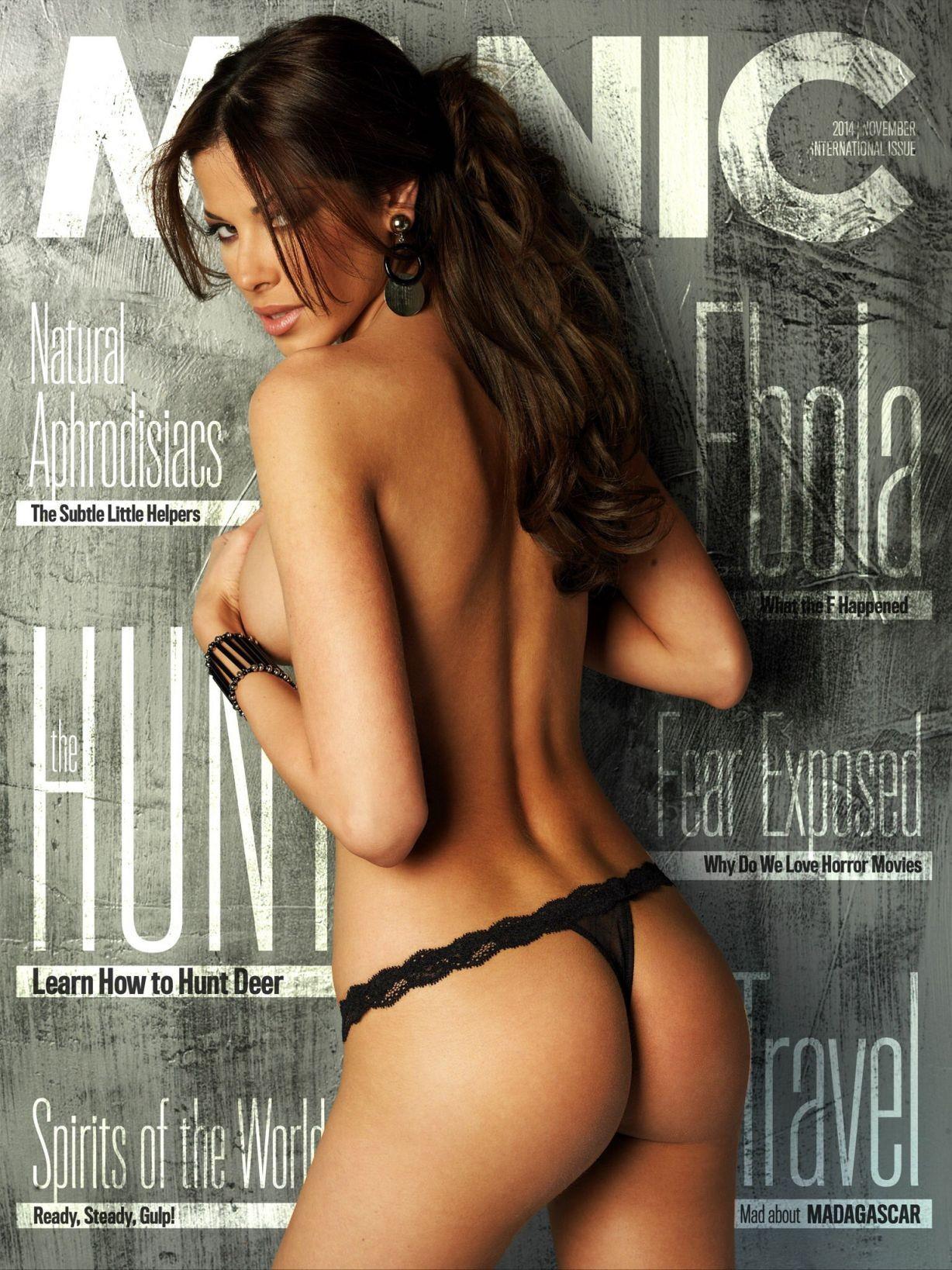 Aida Yespica desnudándose