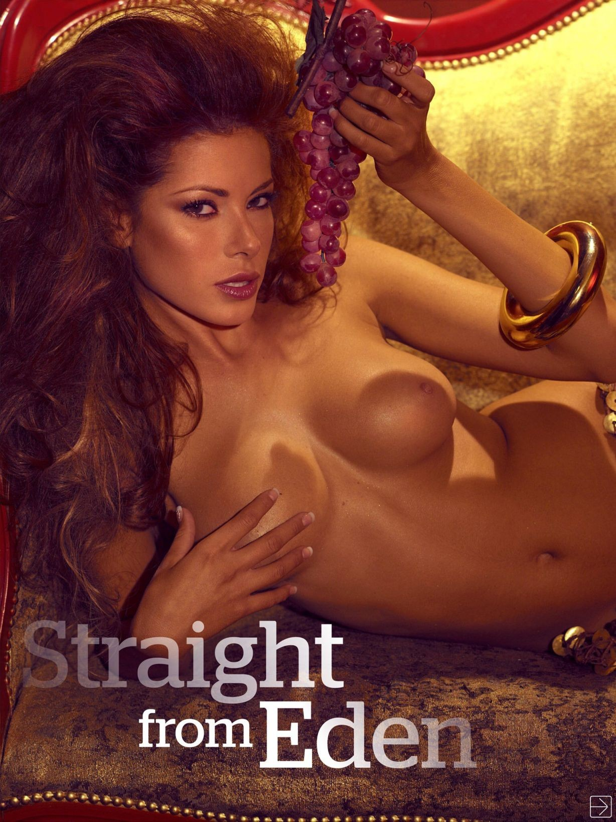 Aida Yespica pillada desnuda